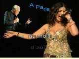 CHARLES AZNAVOUR & LAURA PAUSINI - A PARIS AU MOIS D'AOÛT - (avec la voix de Pausini)