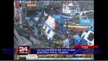 Iquique: la Caleta Riquelme fue la zona más afectada tras tsunami