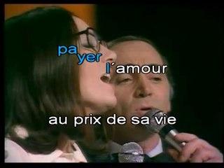 CHARLES AZNAVOUR & NANA MOUSKOURI - MOURIR D'AIMER (avec la voix de Nana)