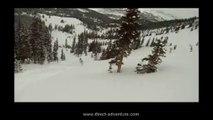Saut de la mort en ski / Faîtes à attention au Hors-Pistes
