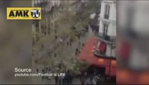 Chelsea taraftarları Paris'te terör estirdi