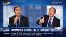 BFM Story: Laurent Fabius vs Arnaud Montebourg: qui va mettre la main sur le Commerce extérieur ? - 03/04