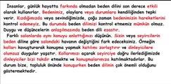 disleksi okuma performansı