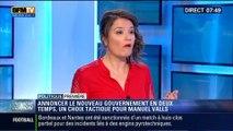 Politique Première: Compléter le nouveau gouvernement en deux temps, un choix tactique pour Manuel Valls - 04/04