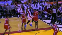 NBA player LeBron James incredible DUNK! Miami Heat 2014!