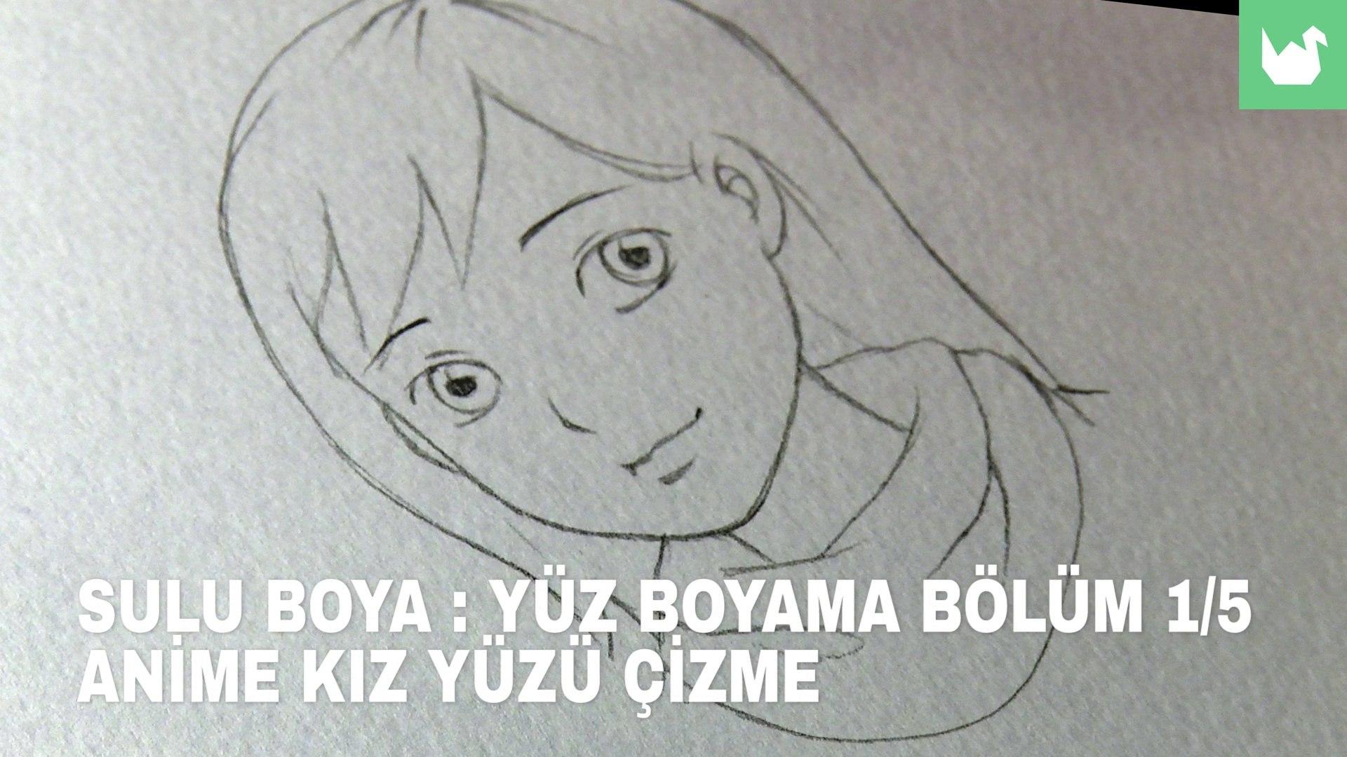 Sulu Boya Yuz Boyama 1 5 Anime Kiz Yuzu Cizme Video Dailymotion