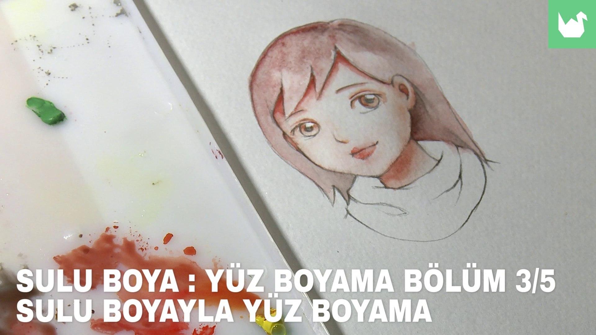 Sulu Boya Yuz Boyama 3 5 Boyama Video Dailymotion