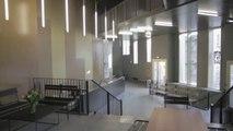 L'envers du décor: Ecole polyvalente, théâtre et 66 logements sociaux