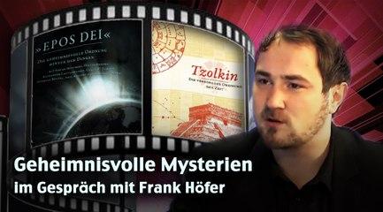 Geheimnisvolle Mysterien - im Gespräch mit Frank Höfer
