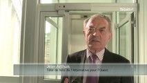 Elections européennes.  Jean Arthuis en campagne à Vannes
