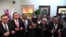 Kula'daki MHP zaferine coşkulu kutlama