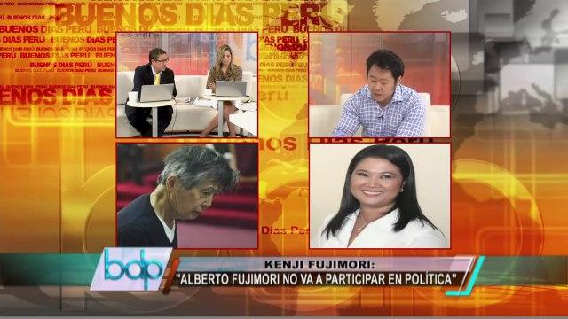 Kenji Fujimori: Alan García esta vez sí la teme porque la debe
