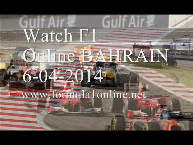 WATCHING Formula One BAHRAIN GP Live