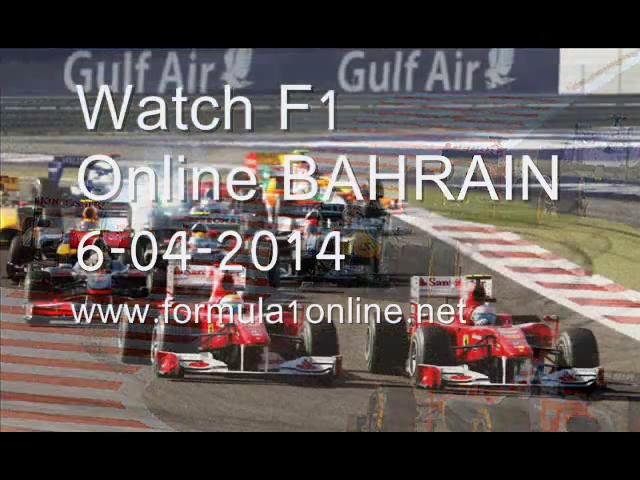 WATCHING Formula One BAHRAIN GP On tv