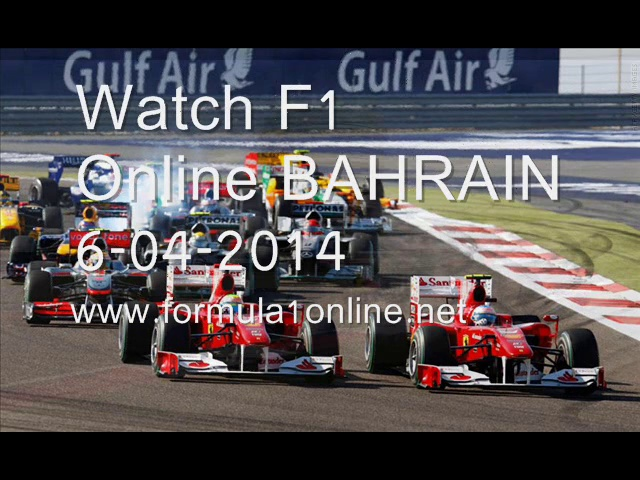 WATCHING Formula One Sakhir Racing