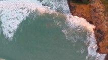 Des images magnifiques filmées au Drone : la côte anglaise, Magique!