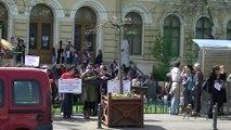 Romania Normala la cap. JOS ASPA, JOS Oprescu, JOS Bancescu, JOS bolsevicii, 4 aprilie, partea a V-a