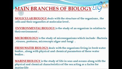 Engeecon: Biology part 1 (Introduction)