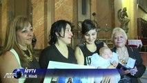 La fille d'un couple de lesbiennes baptisée en Argentine