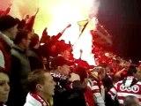 Standard - Anderlecht fumigènes ultras