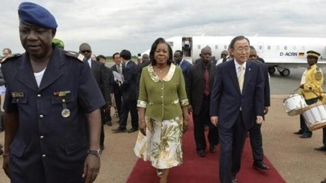 UN chief says CAR peacekeepers 'overwhelmed'