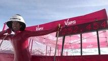 Amazing New World Record for speed skiing by Simone Origone