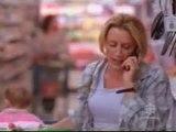 Lynette au supermarché