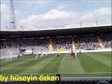 Ankaragücü-Ofspor / Bütün Stad Sırayla / Sarı Lacivert Şampiyon Başkent
