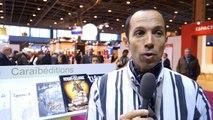Rencontre avec Florent CHARBONNIER au Salon du livre de Paris avec le ministère des Outre-mer