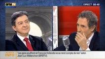 Clash entre Jean-Jacques Bourdin et Jean-Luc Mélenchon au sujet du FN
