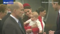 Duke and Duchess of Cambridge begin New Zealand and Australia tour with Prince George _ Mail Online