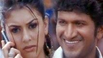 Hansika Motwani & Puneeth Rajkumar In Romantic Scene - Bindaas