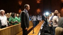 Oscar Pistorius says wakes up and 'smells blood'
