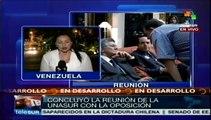 Oposición se reune con Unasur y condiciona encuentro con Maduro