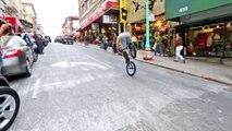 Bike Parkour -Streets of San Francisco! best stunt