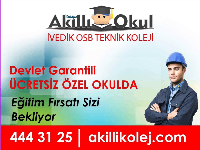 Akilli Okul Ivedik Osb Teknik Koleji