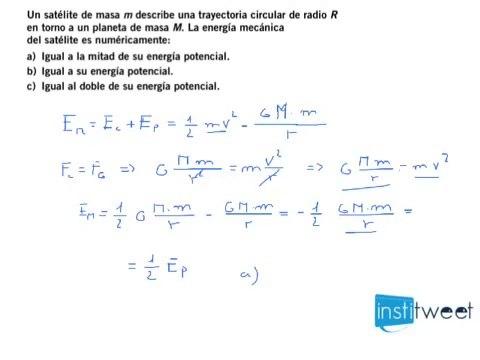 Problema Energía Potencial Cálculo Energía Mecánica Vídeo Dailymotion
