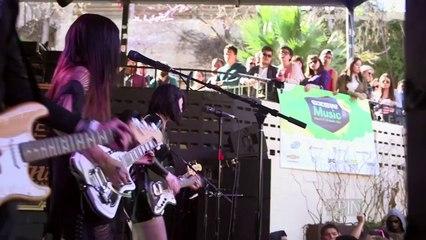 "Dum Dum Girls — ""Rimbaud Eyes"" (SPIN House of Vans SXSW Showcase)"