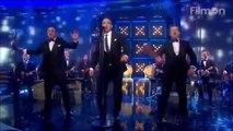 Robbie Williams Angels Saturday Night Takeaway - april 2014