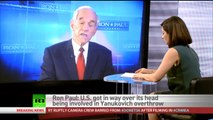 Ron Paul: Anytime US gives intl aid it takes money from poor at home and gives it to rich abroad