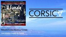 Les Artistes Corses du Fanale - Histoire Corse - Humour Corse