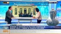 Politique Première: Derrière le discours de politique générale de Manuel Valls, l'ombre de François Hollande - 08/04