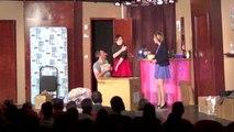 Le Carton - pièce de théâtre : pétage de câble d'Antoine (Nicolas Ragni)