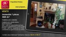 A vendre - immeuble - FABREGUES (34690) - 7 pièces - 360m²