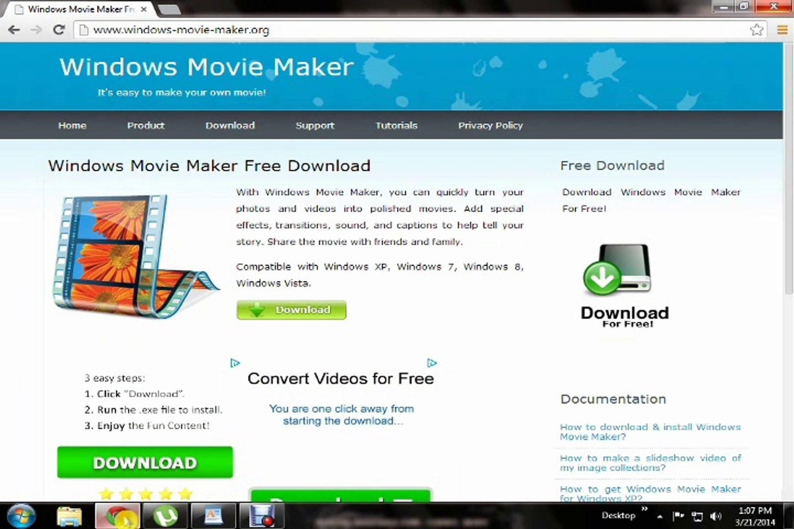 movie maker download for window 7