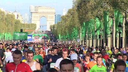 Ambiance - Schneider Electric Marathon de Paris 2014