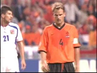 EURO 2000 Netherlands 1 Czech Republic 0 - Group D (11th June 2000)