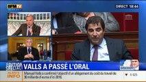 BFM Story - Édition spéciale sur le discours de Manuel Valls à l'Assemblée nationale - 08/04 3/7
