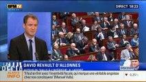 BFM Story - Édition spéciale sur le discours de Manuel Valls à l'Assemblée nationale - 08/04 1/7