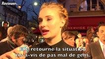 Game of Thrones saison 4 : l'avant-première à Paris, interviews de Maisie Williams, Sophie Turner et Liam Cunningham